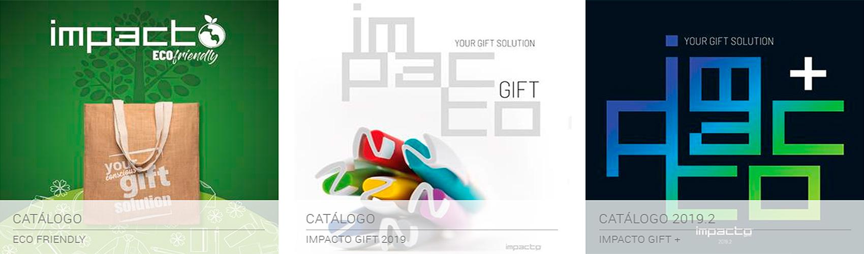 Impacto catálogo promocional