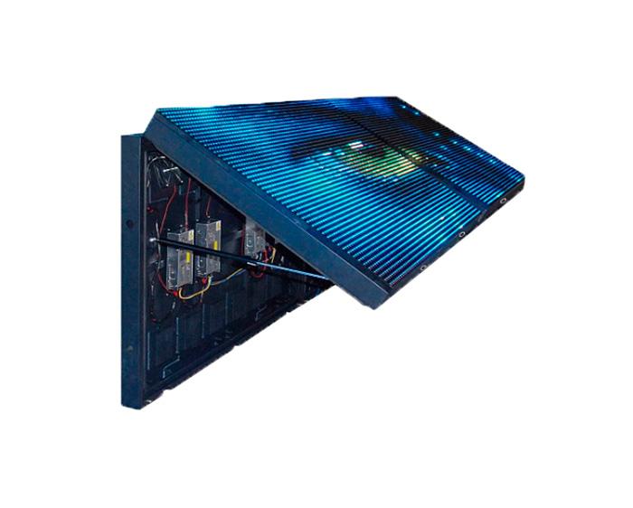 Paineis LED com abertura frontal